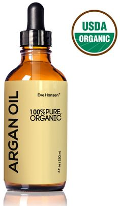 Organic ARGAN Oil - HUGE 4 OUNCE! - Naturally Rich in Anti-Aging VITAMIN E - 100% Pure (EcoCert, USDA) - Nothing Added or Taken Away - For NATURAL Face Moisturizing, Hair Treatment, Skin and Nail Care ** Details can be found by clicking on the image.