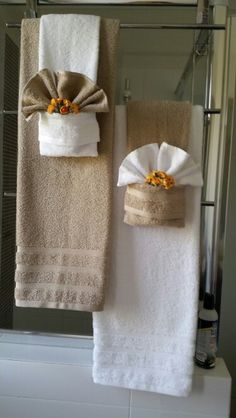 Towel Folding Bathroom
