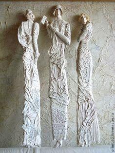 """*Paper Sculpture - """"Parisienne"""" by Tatiana Danilova (Paper Mache)"""