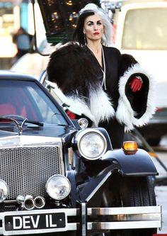 "Victoria Smurfit as Cruella De Vil on ""Once Upon a Time"""