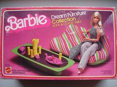 Barbie blow up furniture