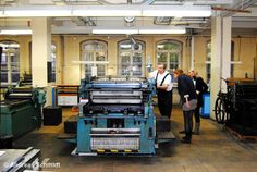 Discover history directly - that's possible in the Leipzig Museum of Printing Art (Nonnenstraße 38). The whole process of letterprinting is shown with machines and tools. You can test them and print yourself.  www.druckkunst-museum.de