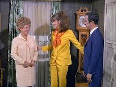 The mother-in-law (Jane Dulo), with daughter 99 (Barbara Feldon) and Max (Don Adams). Mel Brooks exhausted his entire arsenal of mother-in-law jokes in these hilarious episodes. Get Smart (1965-70).