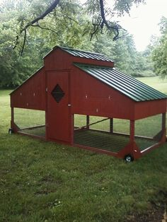 """Heritage Ways Farm added 3 new photos. November 13, 2014 ·  The Barn Style Coop is 6'x14', and comes complete with 6 nest boxes, exterior egg collecting doors, walk in door, 20 lf. of roost poles, excellent ventilation, and will carry 15 large hens or up to 20 smaller hens. 1""""x2"""" cage wire is used, not chicken wire which can be torn by raccoons. Designed to look good in an urban or rural setting. $1295.00 plus delivery is available. 931-224-1185"""