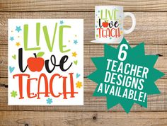 A personal favorite from my Etsy shop https://www.etsy.com/listing/523119416/teacher-decal-teacher-car-decal-girl-car
