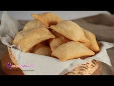 Gnocco fritto ( fried savory dough ) Italian recipe .A crispy, fried bread perfect for serving along with an antipasto