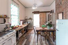 NOLA renovation inspiration // Breeze & Lauren's New Orleans Shotgun Filled With Vintage Charm