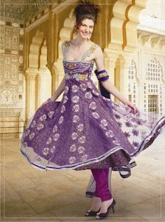 Latest Summer Anarkali Salwar Kameez For Girls 2014. #pakistaniclothes, #designeranarkalisuits, #anarkalisalwarkameez, #salwarkameez, #pakistanisalwarkameez, #fashion