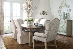 The Horchow Collection - Rooms & Ideas - Fresh Cream - Dining Rooms ...