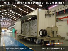 mobile prefabricated distribution substation