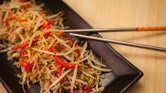 Fèves germées sautées à la noix de coco et à la pâte de crevettes Japchae, Main Dishes, Lunch, Ethnic Recipes, Food, Target, Side Dishes, Recipes, Entrees