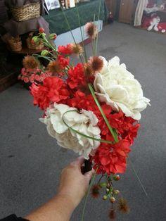 Wedding bouquet, silk