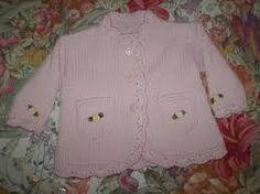 Risultati immagini per maglia neonati ai ferri