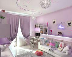 pretty rooms tumblr | argh, bedroom, pretty, purple, room, ugly