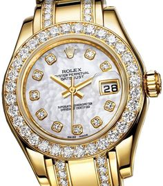 Rolex...     http://sidomoro.com/wp-content/uploads/2012/06/rolex-watches-for-women.jpg Dream Watches, Cool Watches, Luxury Watches, Watches For Men, Diamond Rolex, Rolex Diamant, Diamond Watches, Gold Rolex, Rolex Watches