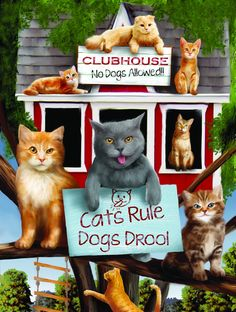 Jigsaw Puzzle - Cats Rule
