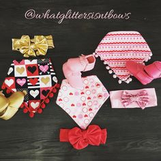 A personal favorite from my Etsy shop https://www.etsy.com/listing/260649138/valentines-day-items-heart-bibs