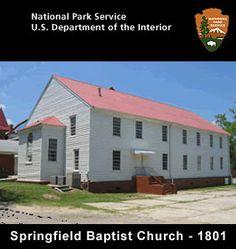 Springfield Baptist Church in 1801