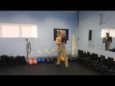Kettlebell Bottom-Up Twist