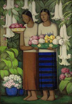 Alfredo Ramos Martinez Mexican Artists, Mexican Folk Art, Latino Artists, Arte Latina, Pop Art, Ouvrages D'art, Diego Rivera, Naive Art, Art Studies