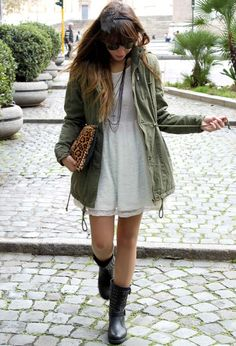Look Super Fashionable With A Casual Parka Jacket