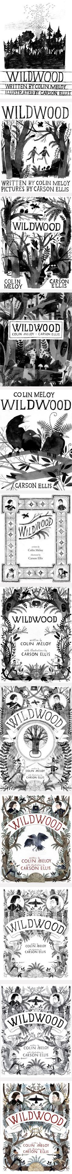 The agony and the ecstasy - the story about the cover design of Wildwood by Colin Meloy and Carson Ellis//