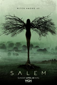 Salem - TV show; spooky, crazy, mysterious, creepy; hot men, social pariahs, religious obsession and history mixed! Wahoo!