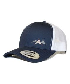 Mountain Pass Hat - Navy   White - Grey and Hyperstitch Animales Y  Mascotas c76c3c35132