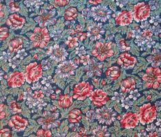 Vintage quilting fabric  44 x 21/4 yds  Springs by JanesVintageToo, $11.00