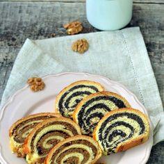 Baigli cu nuca si mac – cozonac unguresc Ratatouille, Fudge, Deserts, Mac, Ethnic Recipes, Food, Sweet Treats, Desserts, Meal