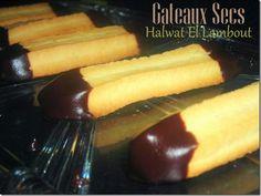 Halwat el-lambout (gateaux secs algeriens à l'entonnoir)
