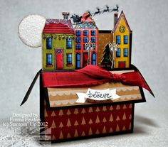 Lady & the Stamp: Christmas Scene