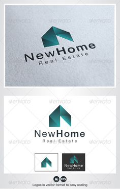 New Home  Logo Design Template Vector #logotype Download it here:  http://graphicriver.net/item/new-home-logo/2611784?s_rank=605?ref=nexion