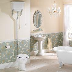 Phoenix Balmoral Low Level Toilet, High Level Cistern & Seat