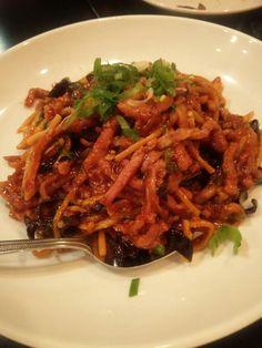 Yu Shang pork, Shang Noodle and Chinese, Evanston