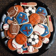 Boy Cookies!! or for a girl ;)