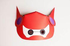 DIY Baymax mask tutorial from allfortheboys.com