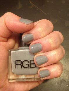 12 Days of Favorite Nail Colors from Jamie and Katie: RGB Steel