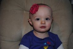 Headband - CUSTOM ORDER - Fuchsia Shabby Chic Chiffon Flower on an elastic band.