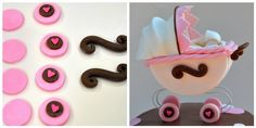 How to Make a Stroller Cake Topper | flavor of cooking