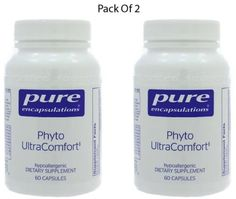 Pure-Encapsulations-Phyto-UltraComfort-60-VegCapsules-2-PACK-Exp-2-18-SD