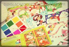 Livre jeunesse - atelier créatif - Mes créations - cartes à aquareller - Edtions Gründ - enfants - kids - féérie - peinture - aquarelle - temps calme - créativité - Sophie Rohrbach