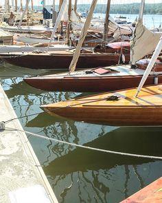 Mariefred Sweden. #sailboats #oldsailboats #woodensailyacht #sailyachts #mariefred Sailboats, Sweden, Instagram, Sailing Yachts, Sailboat
