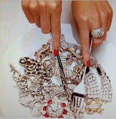 diamonds on diamonds on diamonds