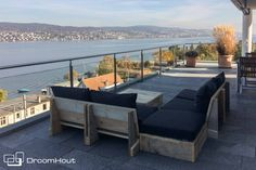 Bereid je vast voor op de lente!   Loungeset Montecastelli   Design loungebank van DroomHout