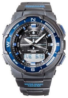 55cb8ba8a5a Casio Twin Sensor Sports Gear Watch for Men  watchesformen Sport Watches