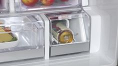 LG's new refrigerator comes with a Blast Chiller that cools a can of beer or soda within minutes