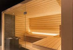 Be inspired by our manifold private references. We are looking forward to plan your individual, tailor-made sauna dream with you! Sauna Design, Blinds, Spa, House Design, Curtains, Tiny Houses, Interior, Fitness, Home Decor