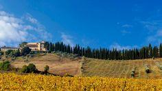Castello Del Nero Hotel & Spa en Tavarnelle Val di Pesa | Splendia - http://pinterest.com/splendia/
