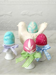 Coloring Easter Eggs Craft | Parenting